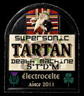 Supersonic Tartan Death Machine image