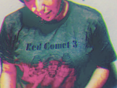 """Red Comet 3 """"Spiral Rings"""" T-Shirt main photo"""