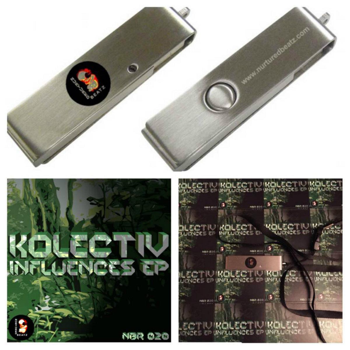 Kolectiv Influences Ep Nbr020 Limited Edition Usb