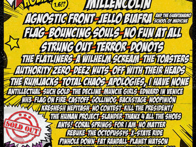 Punk Rock Holiday festival ticket (camping included!) + 2x Larrakia E.P's main photo