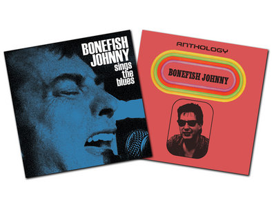 2 for 1! Bonefish Johnny Sings The Blues CD + Anthology CD main photo