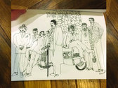 "Limited #'d n Autographed 2nd Edition ""JUMPIN'"" Coloring Book Zine of 80s All Stars photo"