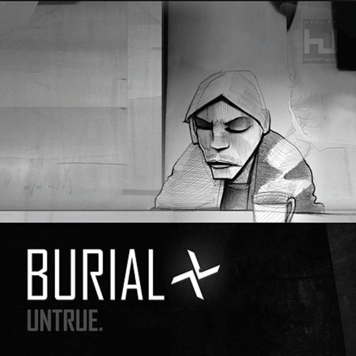 Burial Untrue Hdbcd002d Burial
