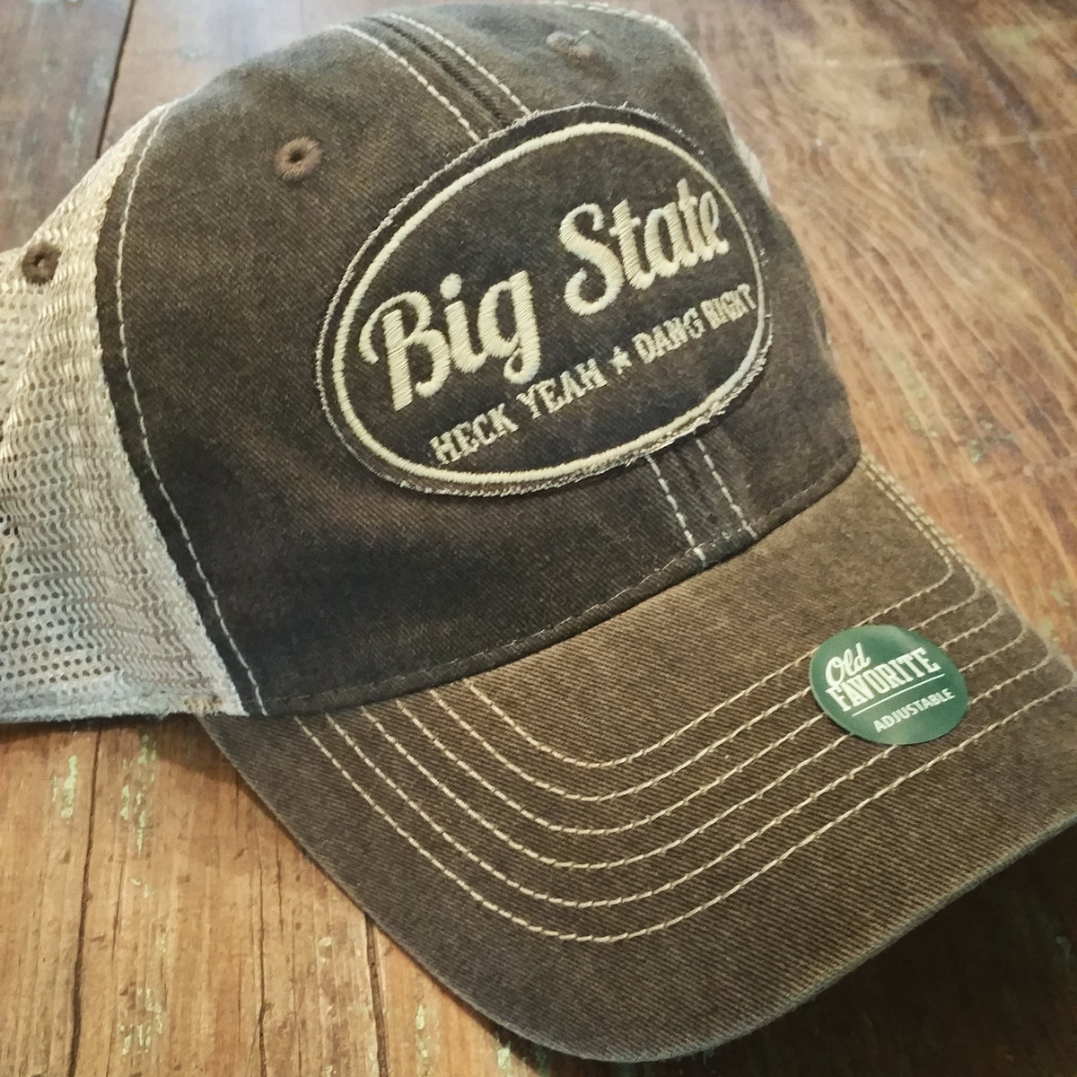 4412ddfcee1af ... Big State - Old Favorite Trucker Hat by Legacy Athletic photo
