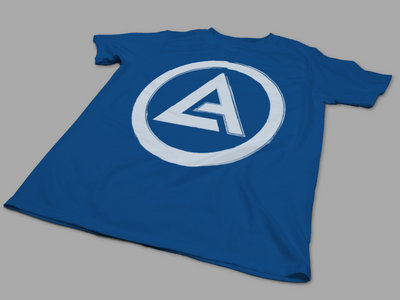 Blue AO badge shirt main photo