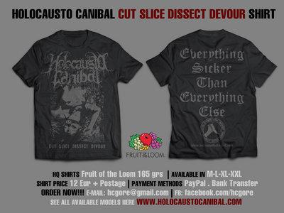 Holocausto Canibal - Cut Slice Dissect Devour main photo