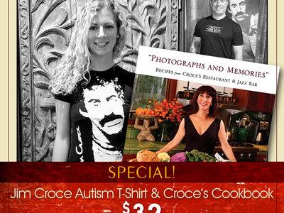 SPECIAL: Jim Croce Autism T-Shirt & Croce's Cookbook main photo