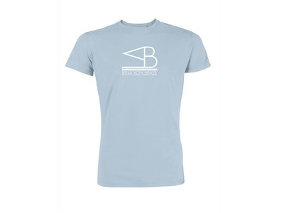 T-Shirt IRINA VON BRAZIL (Man) - Blue Sky main photo