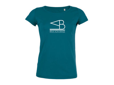 T-Shirt IRINA VON BRAZIL (Woman) - Cyan main photo