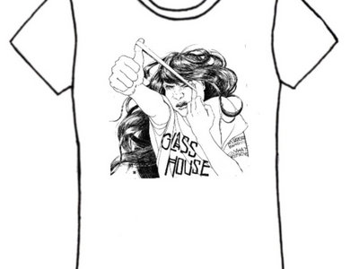 Glass House T-shirt: Rubber Band Poster Girl main photo