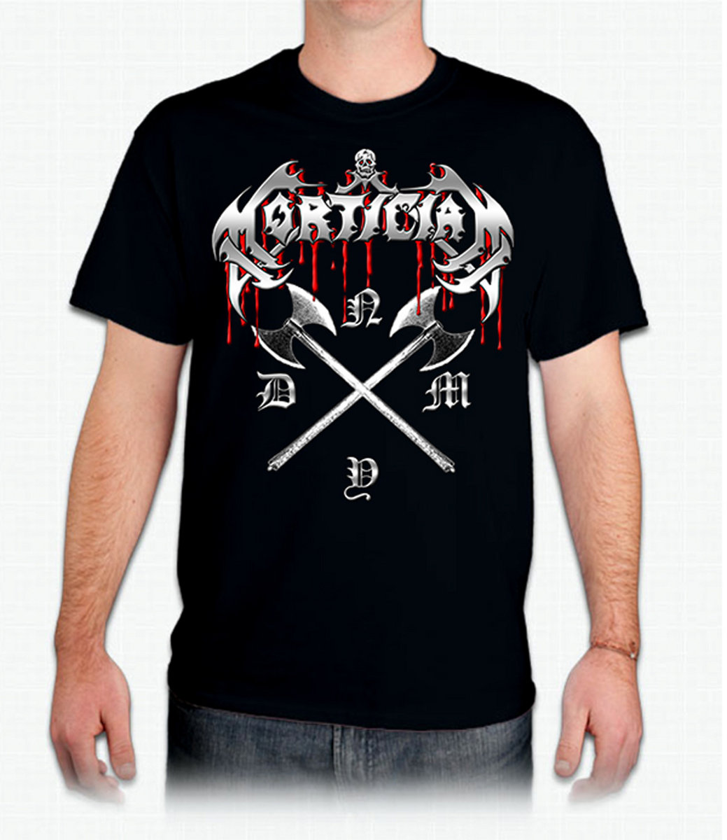 NYDM T Shirt From Mortician