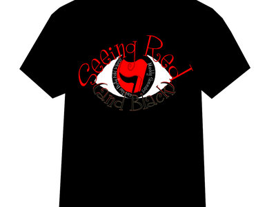 Seeing Red (and Black) T Shirt main photo