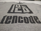 Logo t-shirt (grey) photo