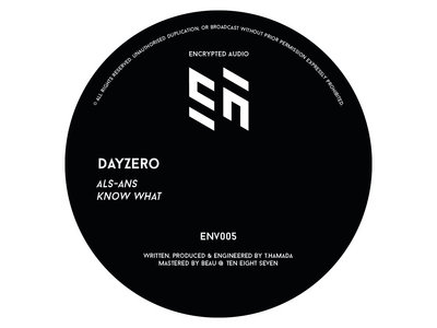 "ENV005 - Dayzero 12"" main photo"