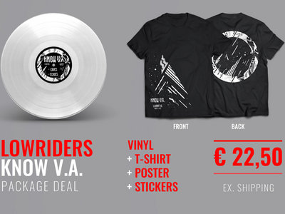 Limited t-shirt + vinyl + poster + stickers main photo