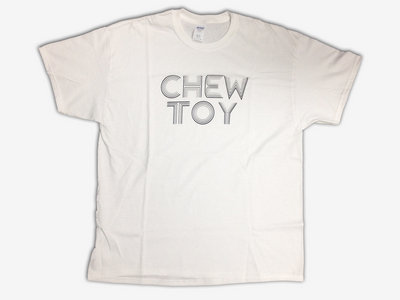Chew Toy line font T-Shirt - Black Print main photo