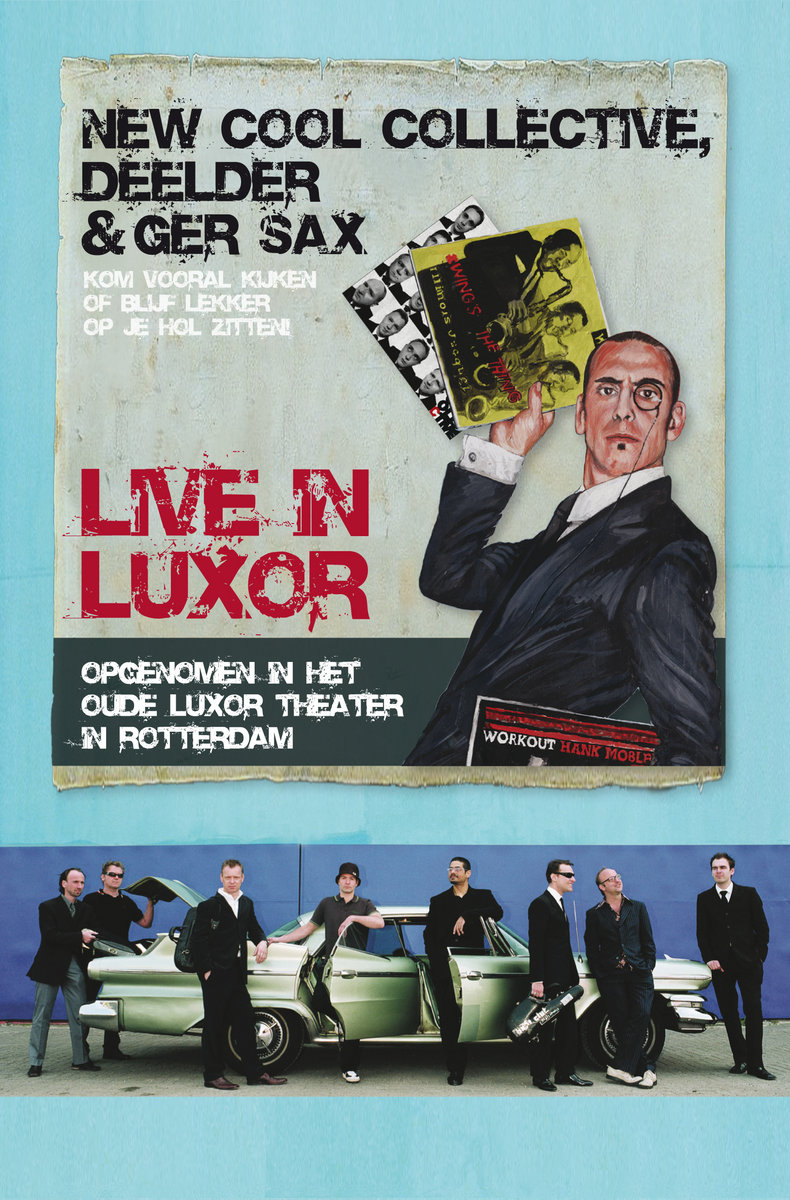 Dvd Live In Luxor With Jules Deelder Ger Sax New Cool