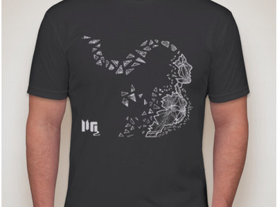 Our Electric Universe T-Shirt - Charcoal Grey w/ Lt Grey Ink main photo