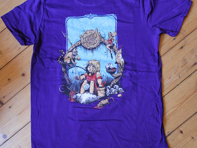 First Album Design T-Shirt - Men Purple main photo