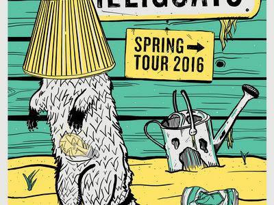 Spring 2016 Tour Poster by Dillon Arloff main photo