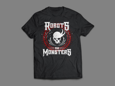 Robots and Monsters: Nothing to Fear, Nothing to Fight T-Shirt main photo
