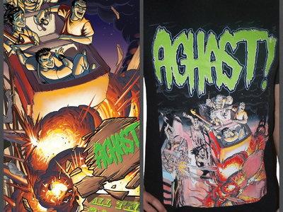 AGHAST! - All The Rage (CD and shirt bundle) main photo