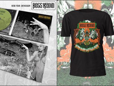 Herb Your Enthusiasm CD 6 Panel Digipak + T-Shirt (Lung Mountain Design) + Patch Bundle main photo