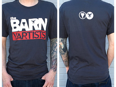 The BARNyartists Logo T-shirt (Charcoal Grey) main photo