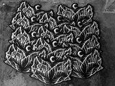 12x8 Leviathan faux Leather back patch photo