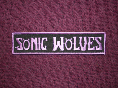 Sonic Wolves patch! main photo
