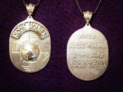 New Sonic Wolves silver pendent! main photo