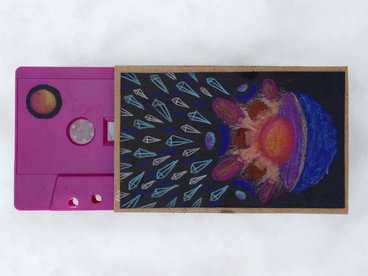 cassette tape with hand-drawn art main photo