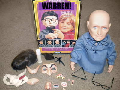 "Warren: ""Man of a Thousand Faces"" Disguise Dummy main photo"