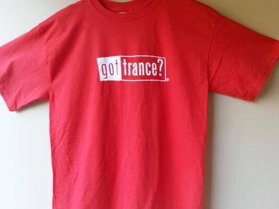 "Red ""Got Trance"" T-shirt plus Album Download main photo"