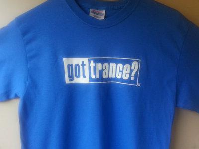 "Royal Blue ""Got Trance?"" T-Shirt plus Album Download main photo"