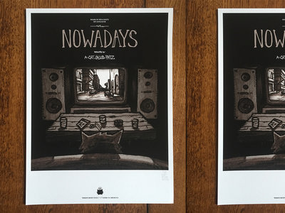 NOWADAYS Poster - Signed & numbered (Limited 5 copies) main photo