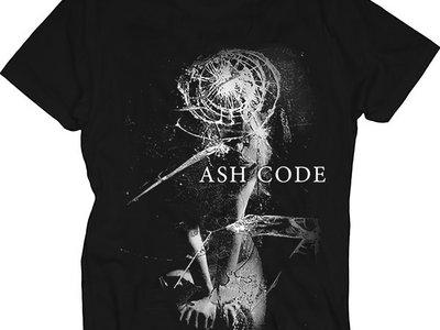 Ash Code 'Broken Mirror' Black T-Shirt main photo