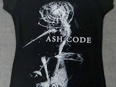 Ash Code 'Broken Mirror' Black T-Shirt photo