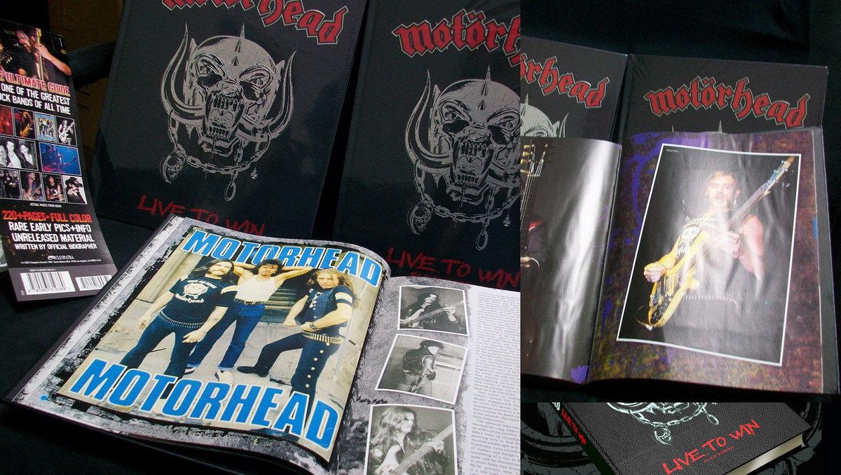 Motorhead – Live To Win [Book] | Motörhead