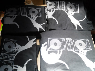 Wax n' Cats T-shirt main photo