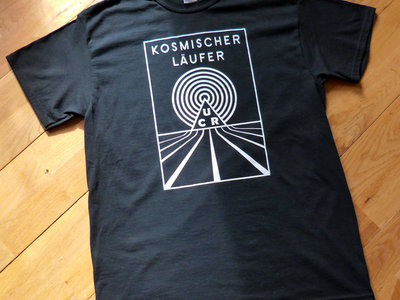 Kosmischer Läufer Black T-Shirt main photo