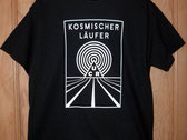 Kosmischer Läufer Black T-Shirt photo