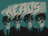 'The Heads / Dead Sea Apes' - Concert Poster (A1) photo
