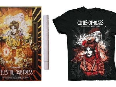 Celestial Mistress T-shirt/poster Bundle. main photo