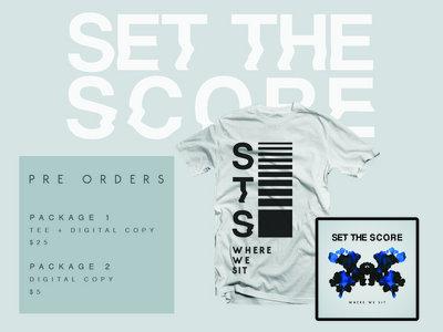 'Where We Sit' Shirt + EP Digital Download main photo