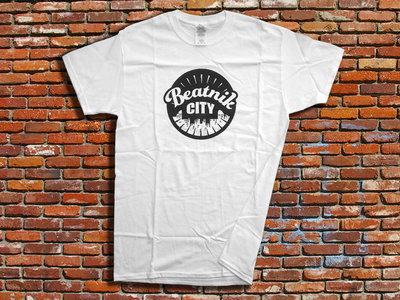 Beatnik City T-shirt (White) main photo