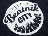 Beatnik City T-shirt (Black) photo
