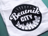 Beatnik City T-shirt (White) photo