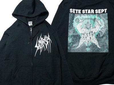 """""""Beast World"""" Zip hoodie - type1 main photo"""