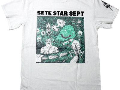 """T-shirt """"Beast World - B"""" - White main photo"""